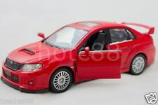 RMZ CITY 1:36 DIE CAST CAR Red Color SUBARU WRX STI COLLECTION CHRISTMAS TOY NEW