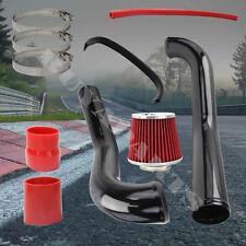 "1996-2000 Honda Civic DX LX Black Cold Air Intake System Kit w/2.75"" Air Filter"