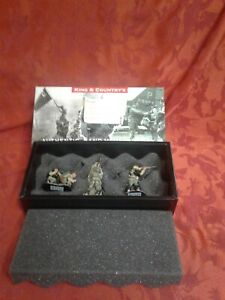 Rare 4 figure set KING COUNTRY DD062 WW2 US ARMY GI CALLING REINFORCEMENTS D-day