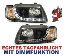 SATZ SCHEINWERFER AUDI A3 8L 96-00 SCHWARZ LINKS RECHTS D-LITE SWA03LGXB