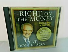Right On The Money - Pat Robertson CD Financial Advice for Tough Times
