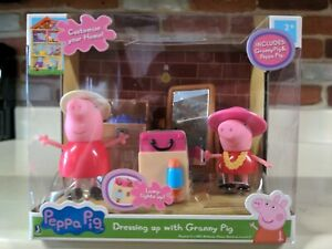 Peppa Pig Little Rooms Dress Up Playset