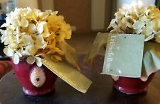 2Pcs Arts Artificial Hydrangea Flowers Fake