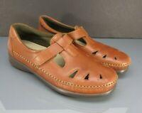 SAS Roamer Women's Mary Jane Shoes Brown Leather Tripad Comfort Size 10