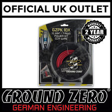 Ground Zero GZPK10X 1500 Watts 7 AWG Gauge Car Amplifier Amp Sub Full Wiring Kit