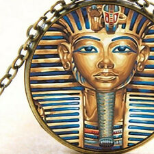 New Tutankhamun Egyptian Pendant Necklace Pharaohs Burial Mask King Tut of Egypt