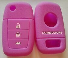 PURPLE SILICONE 3 BUTTON FLIP KEY COVER SUITS HOLDEN VE COMMODORE