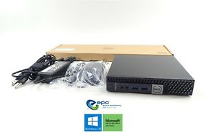 Dell Optiplex 5050 Micro Form Factor Bundle i5-7600T 256GB SSD 8GB RAM W10P