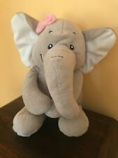 ASDA CUDDLE CREW ELEPHANT SOFT PLUSH COMFORTER TOY 12""