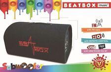 "BEATBOX IMUSIC PORTABLE SUB-WOOFER SPEAKER 8"""