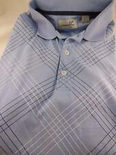 Ashworth Golf Polo Shirt Blue Men's Size L Oregon Golf Club
