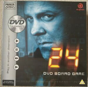 24 DVD Board Game. New and Sealed. Parker Brothers /B1 Games /Hasbro