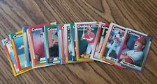 1990 Topps St. Louis Cardinals Team Set with Traded (38 cards)