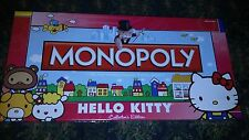 MONOPOLY Hello Kitty Collector's Edition 2010 Hasbro/Sanrio CAN PICK UP NYC AREA