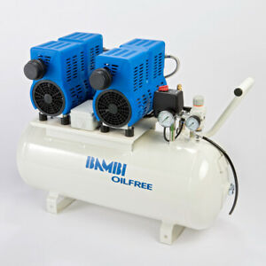 Bambi PT50 Compressor - Ultra Low Noise - Oil Free (50 Litres, 1.5 HP)