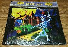 Halloween Light Up Scream/Sound Haunted House Door Mat Spooky Skeleton Decor NEW