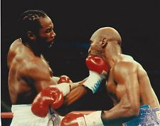 LENNOX LEWIS vs EVANDER HOLYFIELD 8X10 PHOTO BOXING PICTURE ACTION SOLID RIGHT