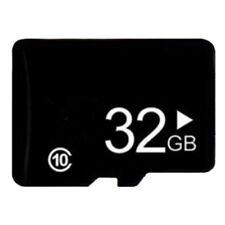 32GB Ultra SD HC Flash SDHC TF Memory Card Fast Class10 + SD Adapter Black Hot