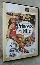 PRINCESS OF THE NILE (1954) Jeffrey Hunter film. region free uk compatible DVD