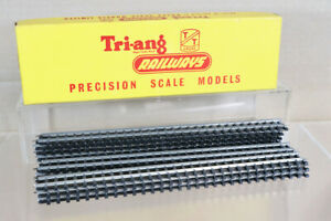 TRIANG T151 TYPE B PACK of 12 STRAIGHT TRACK 232mm LONG MINT BOXED oa