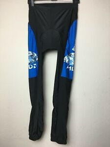 Discovery Channel Women's Padded Cycling Pants Size XL Black / Blue
