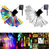 20/30/50LED Solar Power Raindrop Fairy String Light Outdoor Xmas Decor Lamp Kit