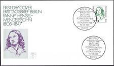 Berlin 1989: Fanny Hensel-Mendelssohn! FDC mit der Nr. 849! Gut erhalten! 1910