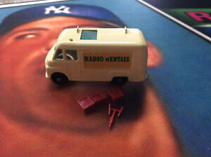 Vintage Matchbox Lesney Tv Service Van W/ TVs & Antenna No Ladder #62 Great
