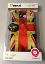 Muvit vintage Housse Case Coque uk drapeau pour samsung Galaxy II GT-i9100