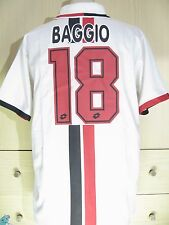 ROBERTO BAGGIO AC MILAN ITALY CALCIO 1994 LOTTO  VTG FOOTBALL SHIRT MAGLIA L
