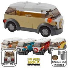 Lego camper van-vw style vacances camping-car-tan/sable (autres couleurs disponibles)