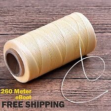eBoot 260m 150D 1 Sewing mm Leather Sewing Waxed Thread Cord For Leather Craft