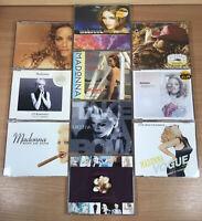 10x Madonna CD single Bundle job Lot Vogue/You'll See/Take a Bow/Deeper & Deeper