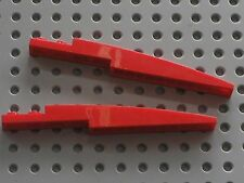 2 x LEGO Red Slope Brick Curved ref 85970 /Set 2519 9441 8075 8678 7292 70721...