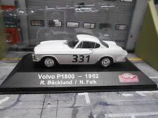VOLVO P1800 P 1800 Rallye Monte Carlo 1962 #331 Bäcklund Falk  IXO Altaya S 1:43