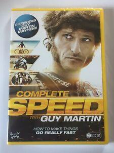 Guy Martin : Complete Speed NEW SEALED GENUINE UK (region 2) 2-disc DVD Box Set