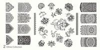 MoYou Nail Fashion Stamping Nail Art Image Plate 2 Ethnic Collection mandala