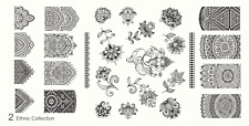 MoYou Nail Fashion Stamping Nail Art Image Plate 2 Ethnic Collection mandala