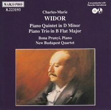 Piano Trio in B Flat (Prunyi, New Budapest Quartet) : Charles Widor
