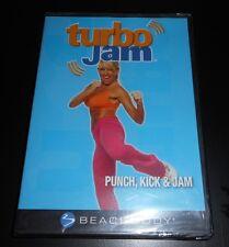 Turbo Jam: Punch, Kick  Jam (DVD, 2007) Chalene Johnson Beachbody Fitness New