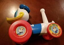 Vintage Antique Illco Donald Duck Pull Toy Ring Toss Walt Disney Productions