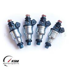 4 x 1000cc Fuel Injectors for EVO 7 8 9 RX-7 FC3S 13B 20B 4AGE 4G63T e85