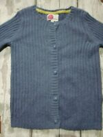 BODEN AGE 9-10 YEARS LILAC PURPLE BUTTON DOWN LONG SLEEVE CARDIGAN WITH MOHAIR