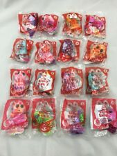 2014 McDonalds Teenie Beanie Boos Happy Meal Toys Complete Set Of 16 VERY RARE!!