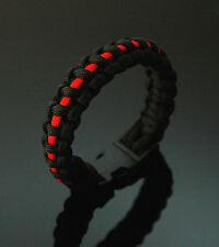 Saracens Rugby 550 Paracord Bracelet