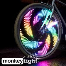 monkeylectric M232 MONKEY LIGHT Speichenlicht mit 32 LED, 64 Farben u. 48 Themen
