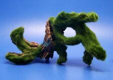 2Pcs artificial Vesicularia Ferriei Weeping Moss Growing Bog Wood Aquarium AK716