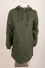 22cd307d Zara Women's Parka Raincoat Jacket XS Army Green Water Repellent 3046/232  NWT