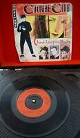 "Culture Club – Church Of The Poison Mind Vinyl 7"" P/S Single UK VS 571 1983"