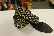 Souldier Celtic Knot Gold Guitar Strap *Free Shipping in the USA*